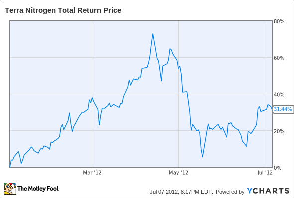 TNH Total Return Price Chart